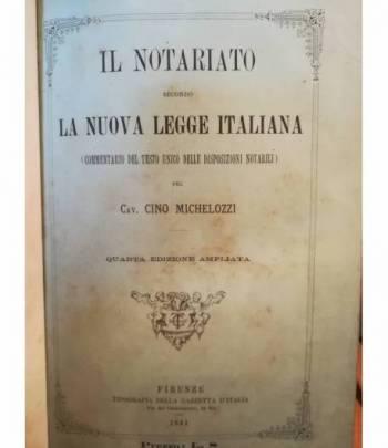 Il notariato secondo la nuova legge italiano