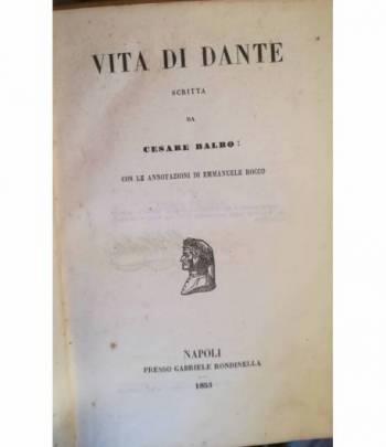 Vita di Dante.