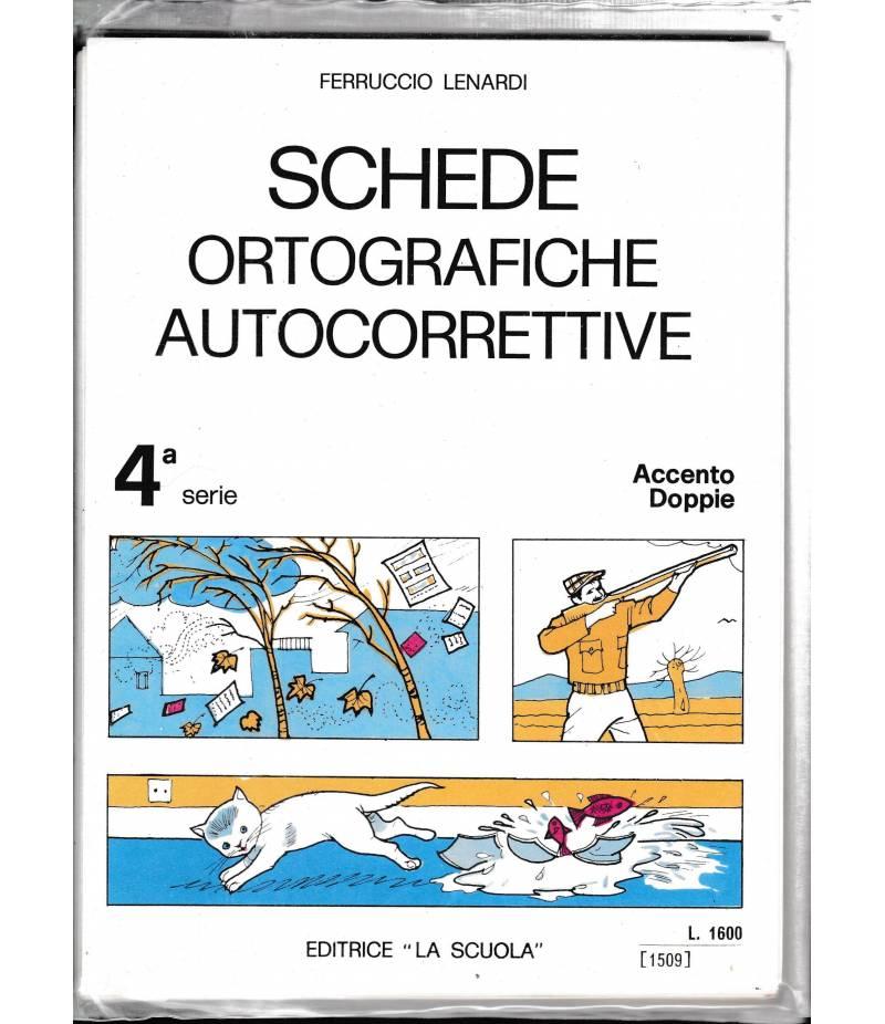 Schede ortografiche autocorrettive