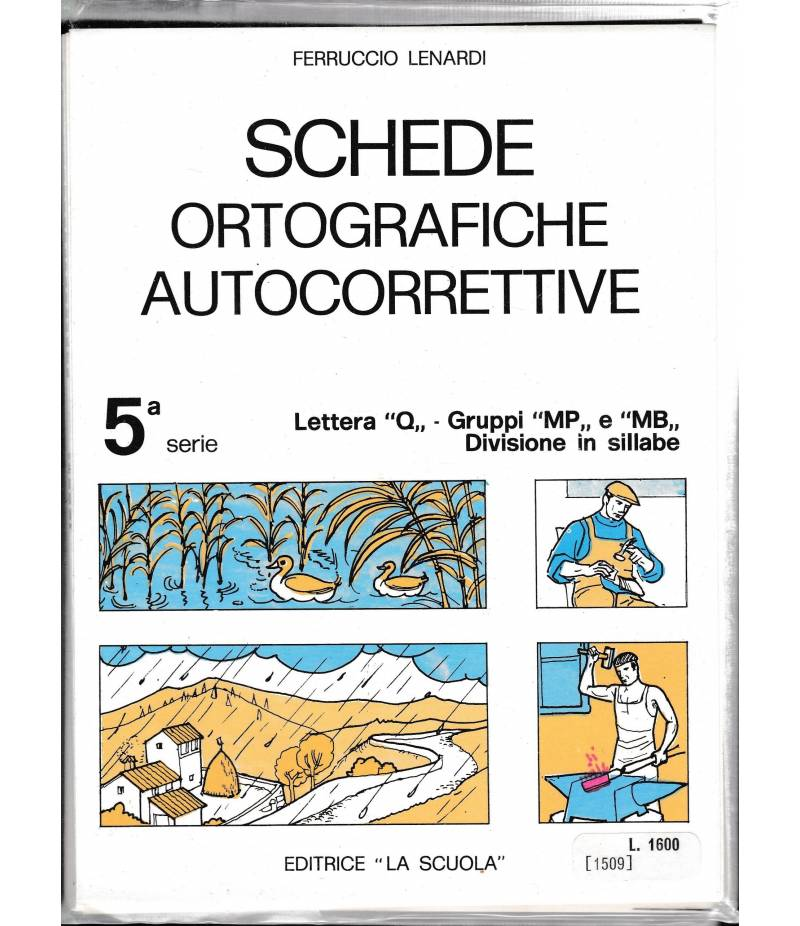 Schede ortografiche autocorrettive 5^ serie