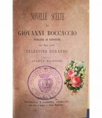 Novelle scelte di Giovanni Boccaccio purgate ed annotate da Celestino Durando
