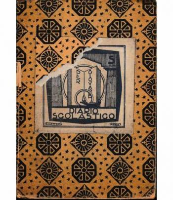 Diario scolastico di Massimei Antonio II° liceo Sez. A anno 1936-1937 (Per collezionisti)