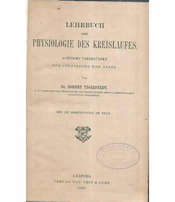 Lehrbuch der physiologie des kreislaufes