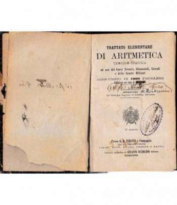 Trattato elementare di aritmetica teorico-pratica