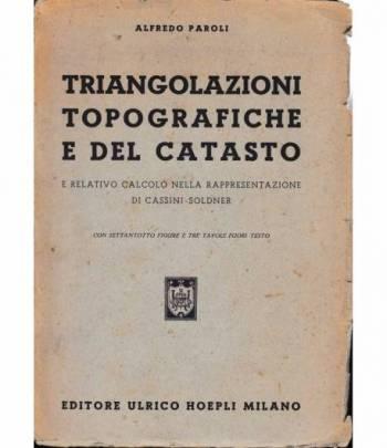 Triangolazioni topografiche e del catasto