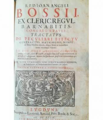 Tractatus de peculiari effectu contractus matrimonii (...)