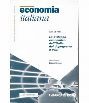 Economia Italiana. Lo sviluppo economico dell'Italia dal dopoguerra a oggi. Anno 1997 n. 3 Settembre- Dicembre