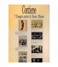 Henry Moore. I disegni. 7 disegni storici. Edizione speciale in occasione della Mostra di Moore al Castello Sforzesco di Milano