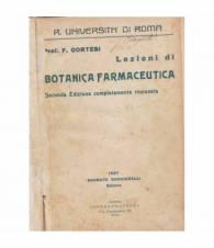 Lezioni di botanica farmaceutica