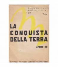 La conquista della terra. Aprile XX (1942).