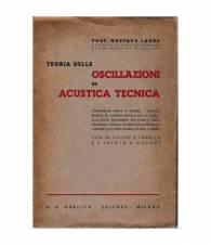 Teoria delle oscillazioni ed acustica tecnica