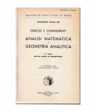 Analisi matematica e geometria analitica. 2ª parte