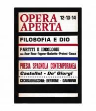 Opera aperta. Periodico di cultura  anno IV - n° 12-13-14  Dicembre 1968