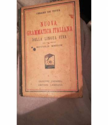 nuova grammatica italiana
