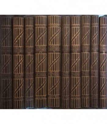 Scritti e discorsi di Benito Mussolini. Edizione Definitiva. (10 volumi)