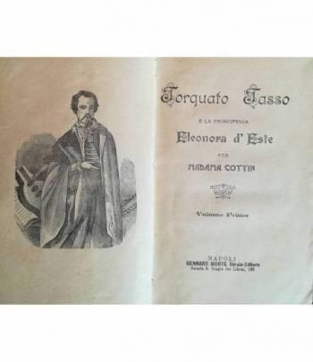 Torquato Tasso e la principessa Eleonora d'Este per Madama Cottin. I. II. III.