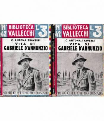 Vita di Gabriele D'Annunzio. 2 volumi