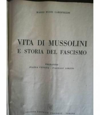 Vita di Mussolini e storia del fascismo. Predappio. Piazza Venezia. Piazzale Loreto.