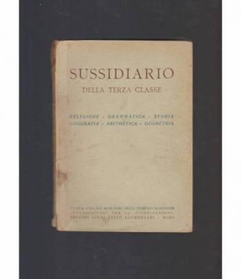 SUSSIDIARIO DELLA TERZA CLASSE