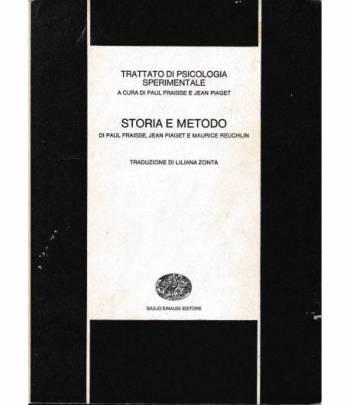 Trattato di psicologia sperimentale. Storia e metodo