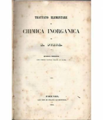Trattato elementare di chimica inorganica