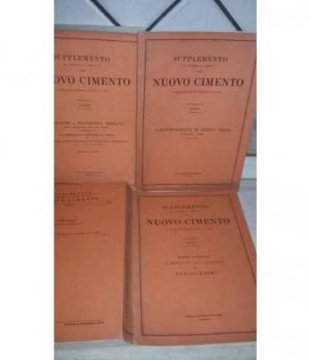 Supplemento al volume 11 serie x, del nuovo cimento