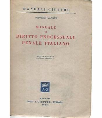 Manuale di diritto processuale penale italiano