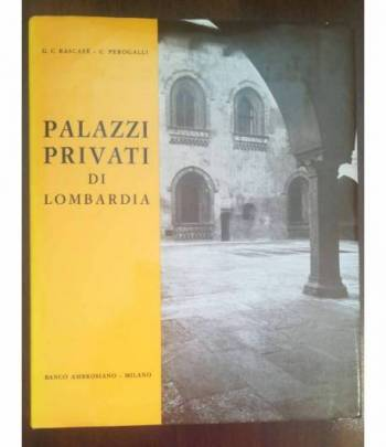 Palazzi privati di Lombardia Copertina flessibile