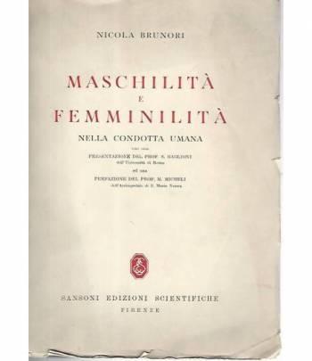 Maschilità e femminilità nella condotta umana