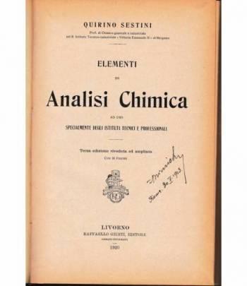 Elementi di Analisi Chimica