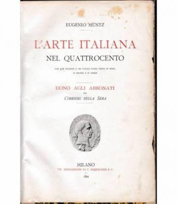 L'arte italiana nel quattrocento