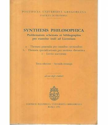 Synthesis philosophica