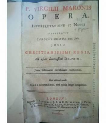 P. Virgilii Maronis Opera Interpretatione et Notis (...)