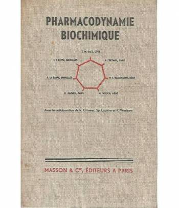 Pharmacodynamie biochimique
