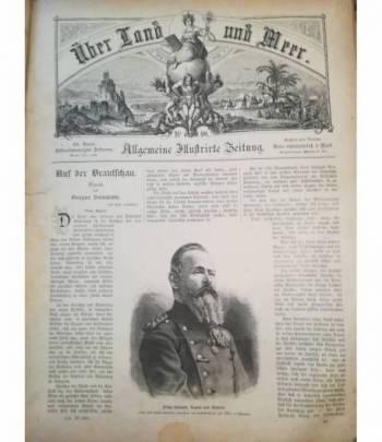 Ueber Land und Meer. Allgemeine Illustrirte Zeitung. N. 28-51. Ottobre 1885-1886.