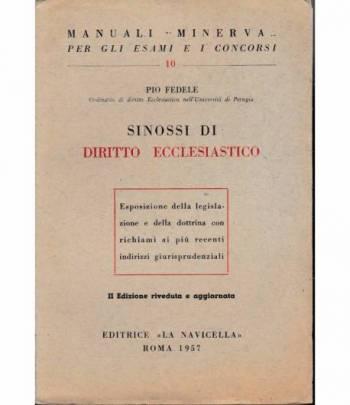 Manuali Minerva. Sinossi di Diritto Ecclesiastico