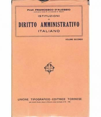 Istituzioni di Diritto Amministrativo Italiano vol. 2°