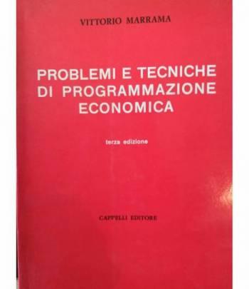 Problemi e tecniche di programmazione economica
