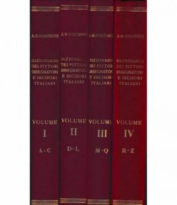 Dizionario illustrato dei pittori disegnatori e incisori italiani moderni e contemporanei (4 volumi)