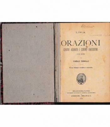 Orazioni contro Agorato e contro Eratostene