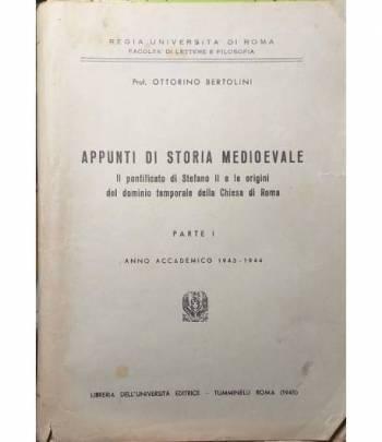 Appunti di Storia Medioevale. Il Pontificato di Stefano II e le origini del dominio temporale della Chiesa di Roma. Parte I.