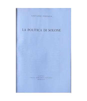 La politica di Solone
