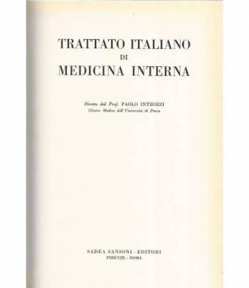 Trattato italiano di medicina interna.Malattie del ricambio e della nutrizione. Sindromi e malattie allergiche