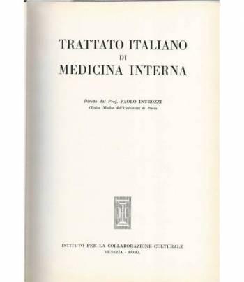 Trattato italiano di medicina interna. Malattie dell'apparato respiratorio.Malattie del mediastino e del diaframma