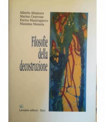 Filosofie della decostruzione