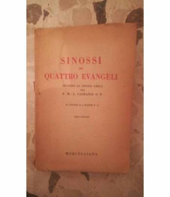 sinossi dei quattro viaggi evangeli secondo la sinossi greca del P.M.J. Lagrage O.P.