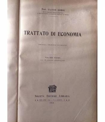 Trattato di economia. Vol. 1