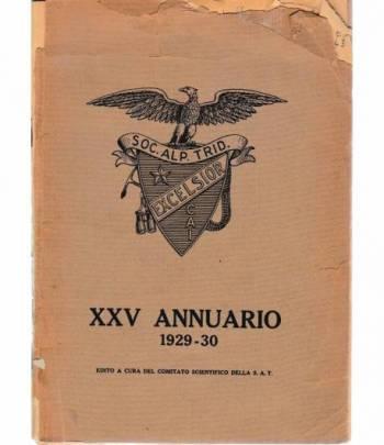 XXV Annuario 1929-30