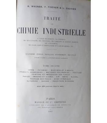 Traité de Chimie Intustrielle, Tome Second