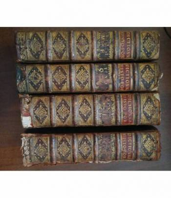 Nouveau dictionnaire historique-portatif, ou histoire abrégée de tous les    4 volumes